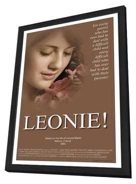 Leonie - 11 x 17 Movie Poster - Style A - in Deluxe Wood Frame
