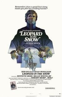 Leopard in the Snow - 11 x 17 Movie Poster - Style A