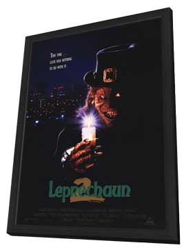 Leprechaun 2 - 11 x 17 Movie Poster - Style A - in Deluxe Wood Frame