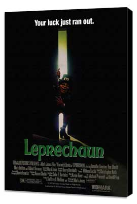 Leprechaun - 27 x 40 Movie Poster - Style A - Museum Wrapped Canvas