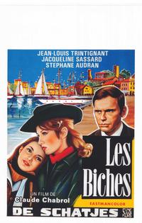 Les Biches - 14 x 22 Movie Poster - Belgian Style A