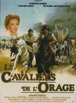 Les cavaliers de l'orage - 11 x 17 Movie Poster - French Style A
