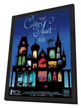 Les contes de la nuit - 27 x 40 Movie Poster - French Style A - in Deluxe Wood Frame