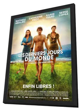 Les derniers jours du monde - 11 x 17 Movie Poster - French Style A - in Deluxe Wood Frame