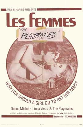 Les Femmes - 11 x 17 Movie Poster - Style A