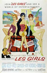 Les Girls - 27 x 40 Movie Poster - Style B