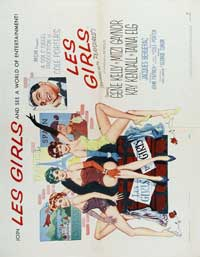 Les Girls - 30 x 40 Movie Poster - Style A