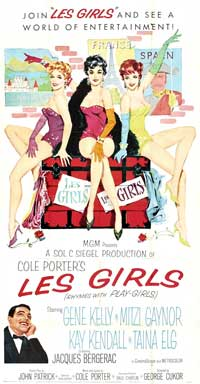 Les Girls - 20 x 40 Movie Poster - Style A