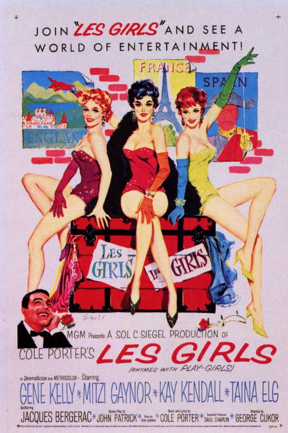 Girls Movie Posters Les Girls