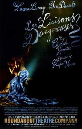 Les Liaisons Dangereuses (Broadway) - 27 x 40 Poster - Style A