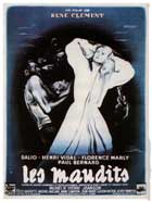 Les maudits - 27 x 40 Movie Poster - French Style B