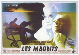 Les maudits - 27 x 40 Movie Poster - French Style A