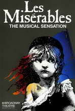 Les Miserables (Broadway) - 27 x 40 Movie Poster