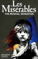 Les Miserables (Broadway) - 11 x 17 Movie Poster - Style A