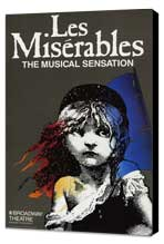 Les Miserables (Broadway) - 27 x 40 Movie Poster - Style A - Museum Wrapped Canvas