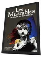 Les Miserables (Broadway) - 14 x 22 Poster - Style A - in Deluxe Wood Frame