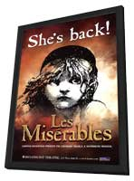 Les Miserables (Broadway) - 11 x 17 Poster - Style A - in Deluxe Wood Frame