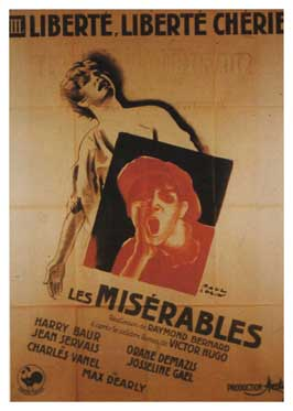 Les Miserables - 11 x 17 Movie Poster - French Style A