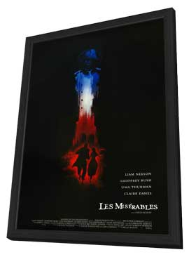 Les Miserables - 11 x 17 Movie Poster - Style A - in Deluxe Wood Frame