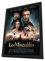 Les Miserables - 27 x 40 Movie Poster - Style D - in Deluxe Wood Frame