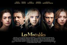 Les Miserables - 27 x 40 Movie Poster - Special Edition Cast Poster - Style A