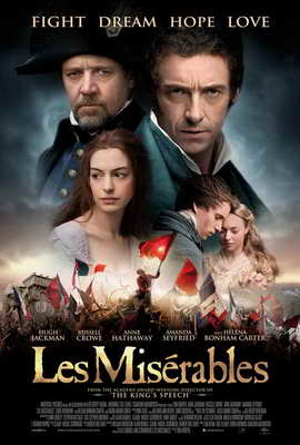 Les Miserables - 27 x 40 Movie Poster - Style H