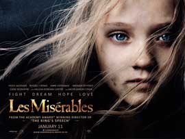 Les Miserables - DS British Quad 30 x 40 - Style A