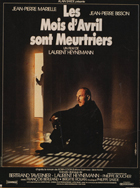 Les mois d'avril sont meurtriers - 11 x 17 Movie Poster - French Style A