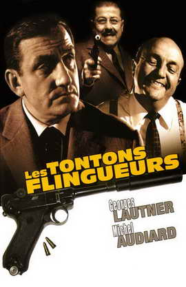 Les tontons flingueurs - 11 x 17 Movie Poster - French Style B
