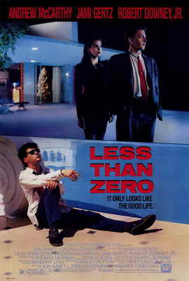 Less Than Zero - 27 x 40 Movie Poster - Style A