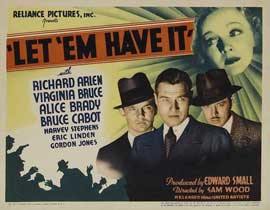 Let 'em Have It - 11 x 14 Movie Poster - Style A