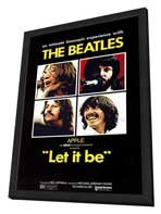 Let It Be - 11 x 17 Movie Poster - Style A - in Deluxe Wood Frame