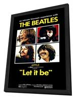 Let It Be - 27 x 40 Movie Poster - Style A - in Deluxe Wood Frame