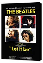Let It Be - 27 x 40 Movie Poster - Style A - Museum Wrapped Canvas