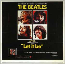 Let It Be - 11 x 14 Movie Poster - Style A
