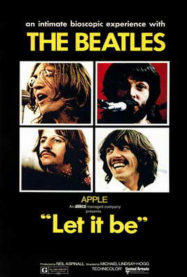 Let It Be - 27 x 40 Movie Poster - Style A