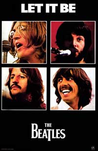 Let It Be - Music Poster - 22 x 34 - Style A