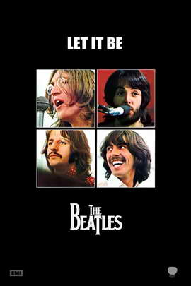 Let It Be - 11 x 17 Movie Poster - Style B