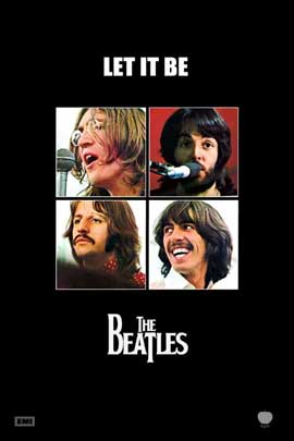Let It Be - 27 x 40 Movie Poster - Style B