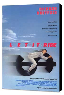 Let It Ride - 27 x 40 Movie Poster - Style A - Museum Wrapped Canvas