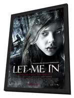 Let Me In - 11 x 17 Movie Poster - Netherlands Style A - in Deluxe Wood Frame