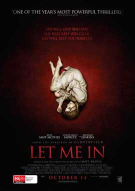Let Me In - 11 x 17 Movie Poster - Australian Style A