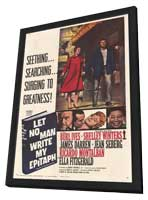 Let No Man Write My Epitaph - 11 x 17 Movie Poster - Style A - in Deluxe Wood Frame
