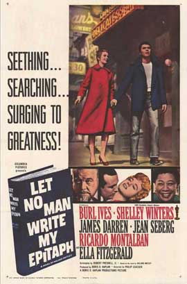 Let No Man Write My Epitaph - 11 x 17 Movie Poster - Style A
