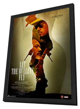 Let the Bullets Fly - 11 x 17 Movie Poster - Style B - in Deluxe Wood Frame