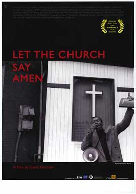 Let the Church Say, Amen - 27 x 40 Movie Poster - Style A