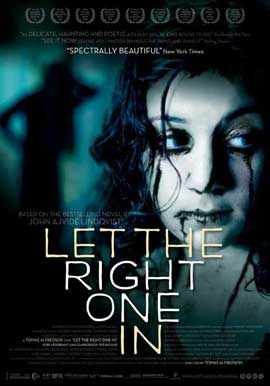 Let the Right One In - 11 x 17 Movie Poster - Danish Style A