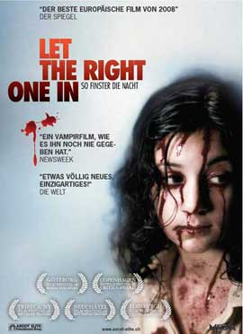 Let the Right One In - 11 x 17 Movie Poster - Swiss Style A