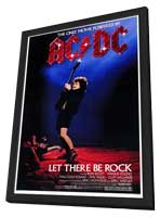 Let There Be Rock - 11 x 17 Movie Poster - Style A - in Deluxe Wood Frame