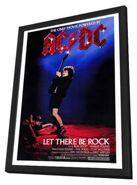 Let There Be Rock - 27 x 40 Movie Poster - Style A - in Deluxe Wood Frame